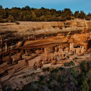 Mesa Verde Native American archaeological site