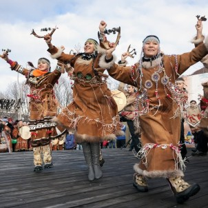Itelman dancers