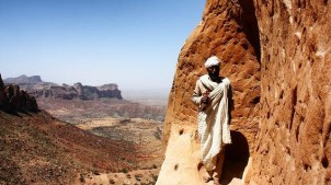Tigray Rock Church priest
