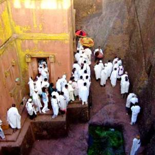 Lalibela church St George